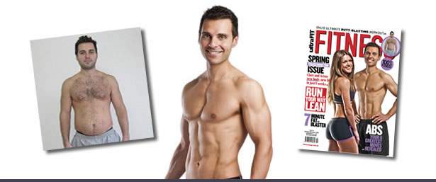 ORIGINAL BOOTCAMP Transformation - Aristo in Ultra Fit Magazine