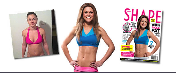 ORIGINAL BOOTCAMP Transformation - Clare in Shape Magazine
